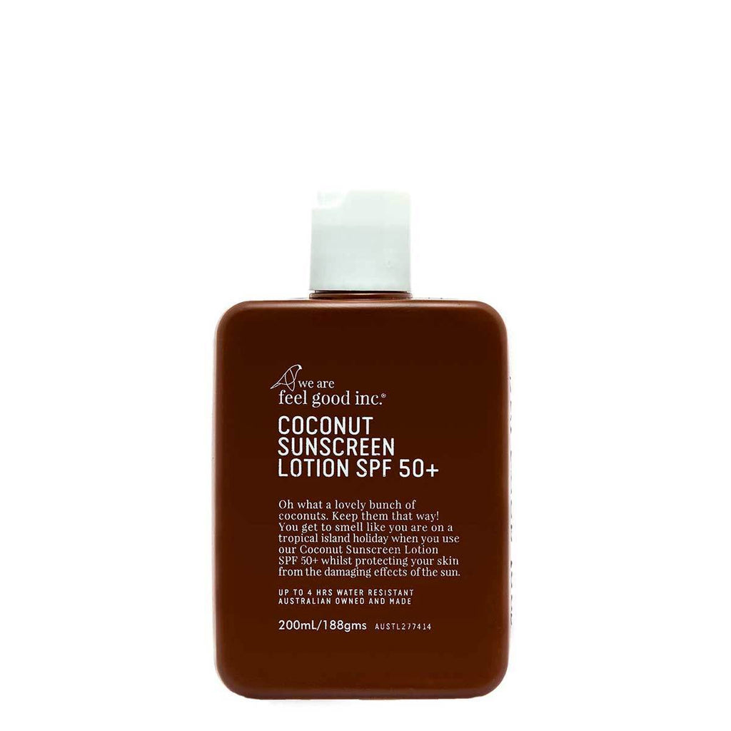 Coconut Sunscreen Lotion SPF 50+,  200ml