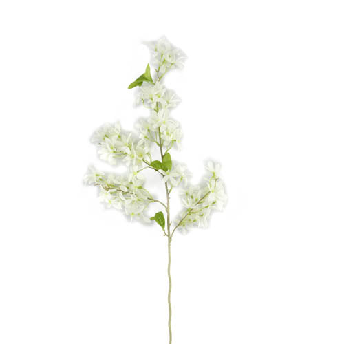 Wild Flower Branch Decor Wh
