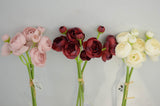 Ranunculus Mini x3 Bunch ATQ-RED