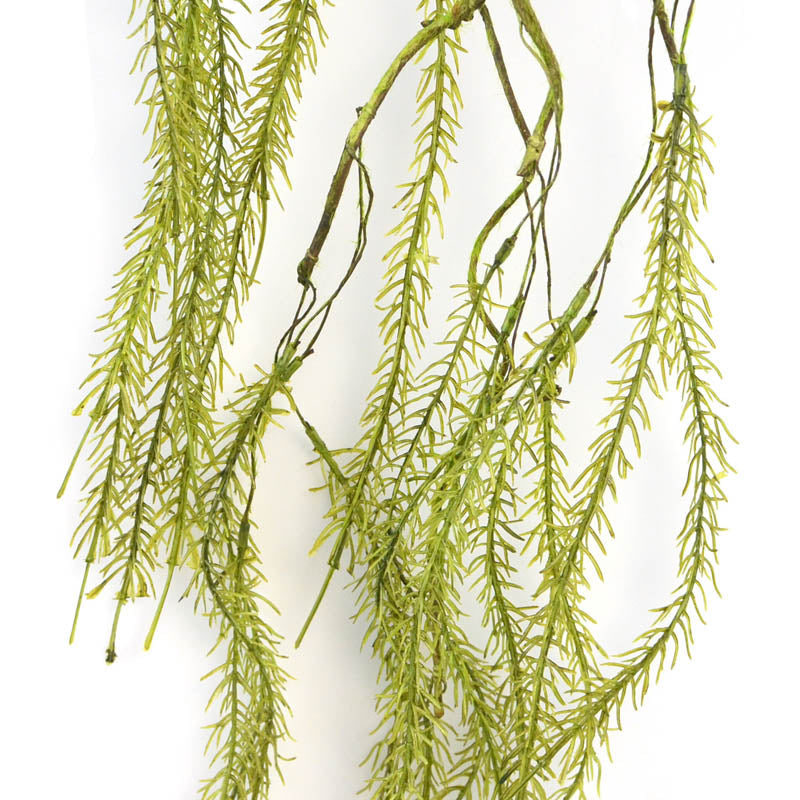 Hanging Soft willow Leaves