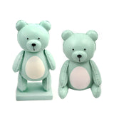 RESIN BALLOON BEAR STANDING-BL