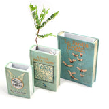 RESIN BOOK POT S