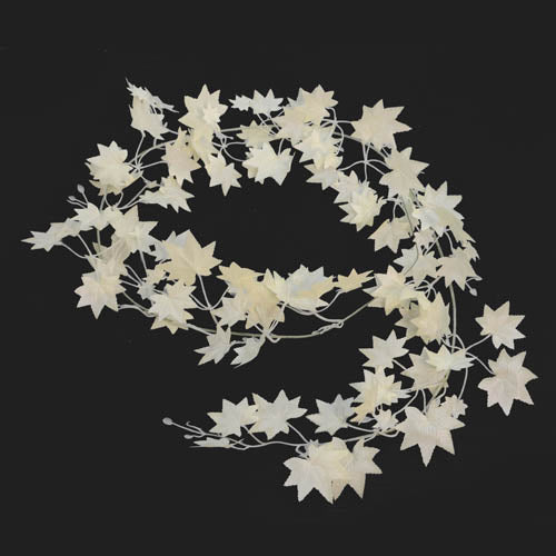 Maple Garland White