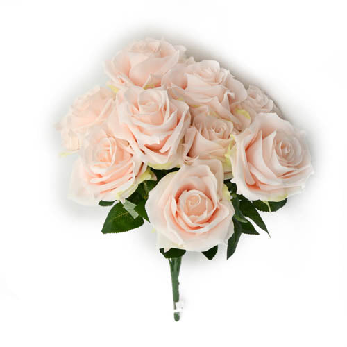 Rose Bunch N X10- Lt.Pink