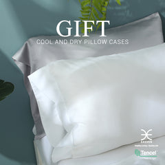 Cool and dry pillow case