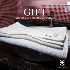 Super soft bamboo towels