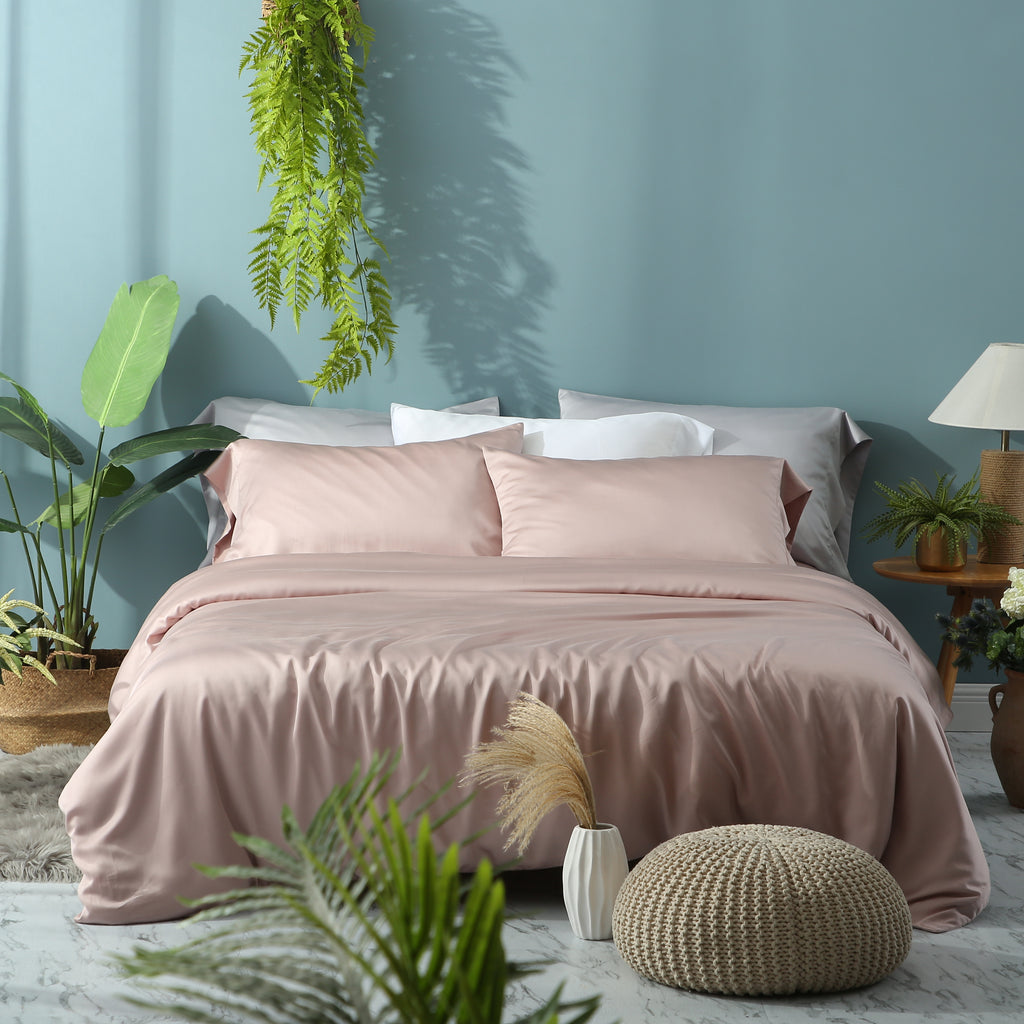 Pink Nectar Duvet Cover Set
