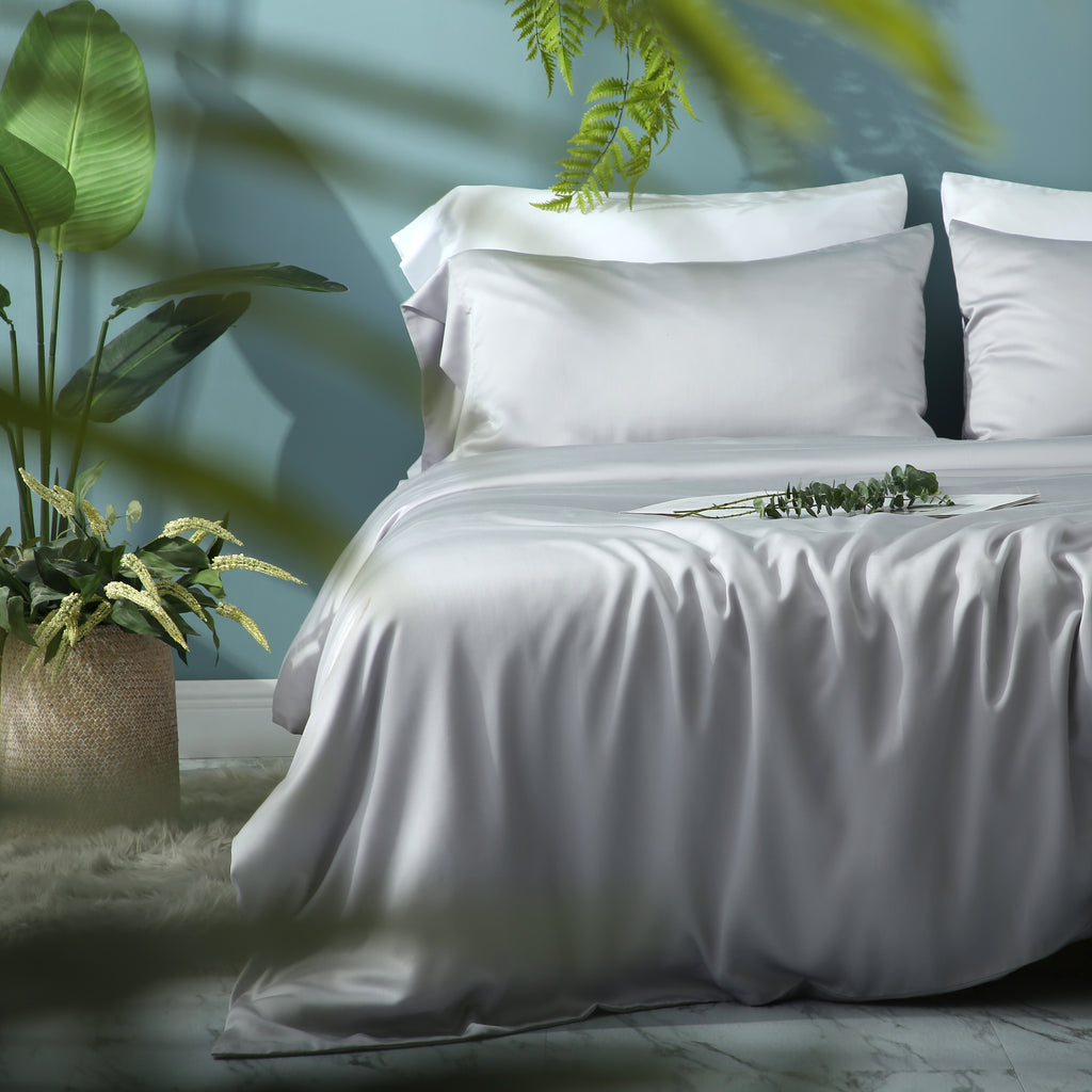 Tempered Grey Duvet Cover Set