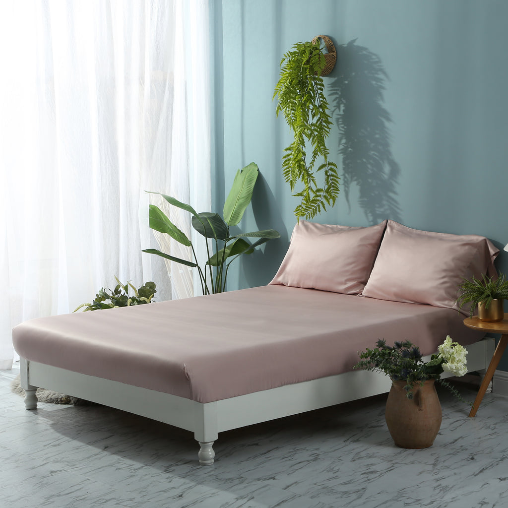 Pink Nectar Fitted Sheet Set