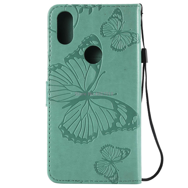 3D Covers On For Motorola One 2018 64GB XT1941-5 Book Flip Cases For Motorola One Dual SIM XT1941-3 Wallet Case TPU Full Housing