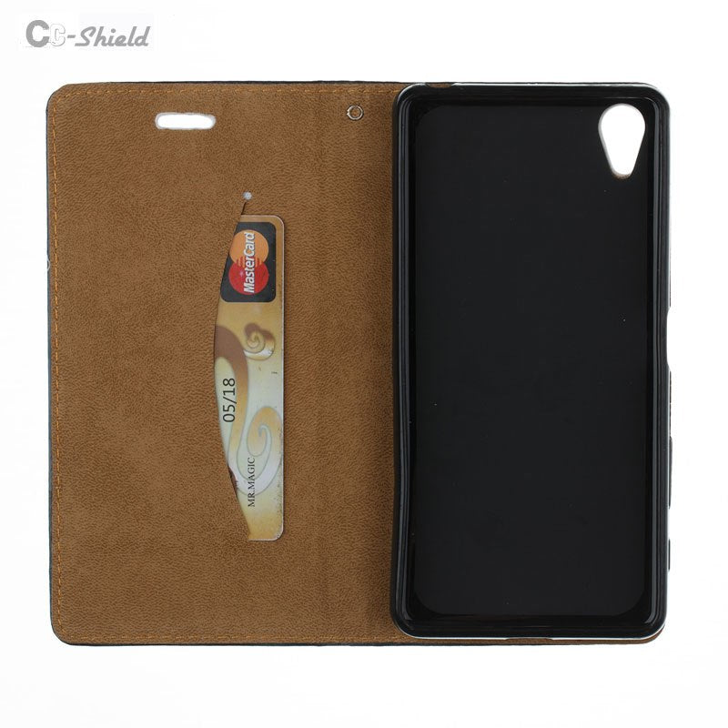 3D Flip For Sony Xperia XA Case X A 2017 Wallet Cover For Sony Xperia XA Xa2017 Case Double-sided Magnetic Leather Phone 5.0 ""