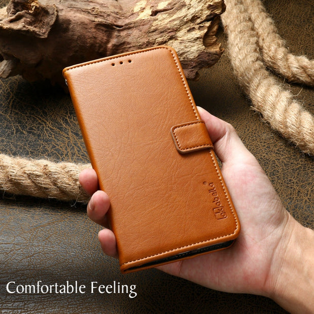 AKABELLA Case For OPPO A33 Cover PU Leather Wallet Flip Case For Oppo A33T Back Housings Oppo Neo 7