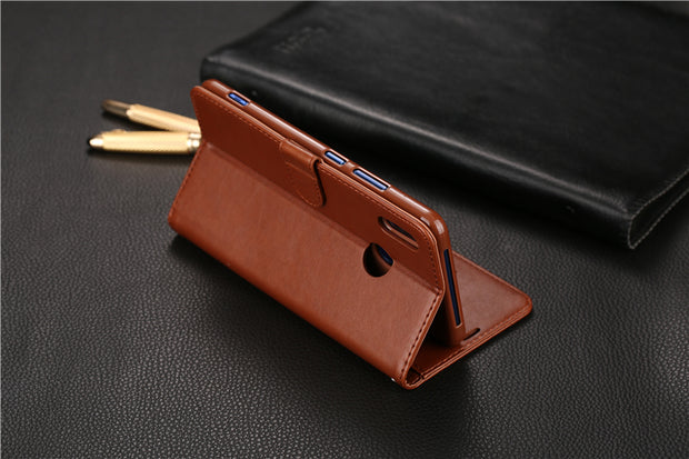 "AZNS Flip Leather Case For HUAWEI Honor Note 10 6.95"" Wallet Style With Card For HUAWEI Honor Note10 Cover Case Bags"