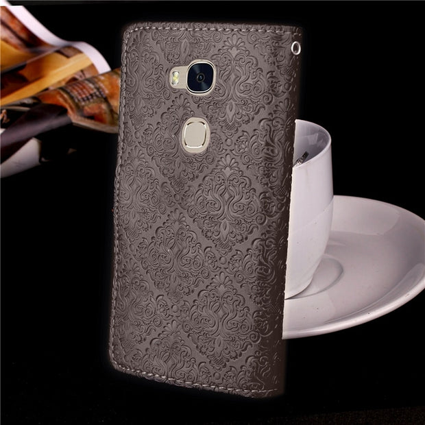 Case For Coque Huawei Honor 5X Case Cover For Huawei GR5 Case With Stand Card Holder For Honor 5X Play Case Capinha Etui