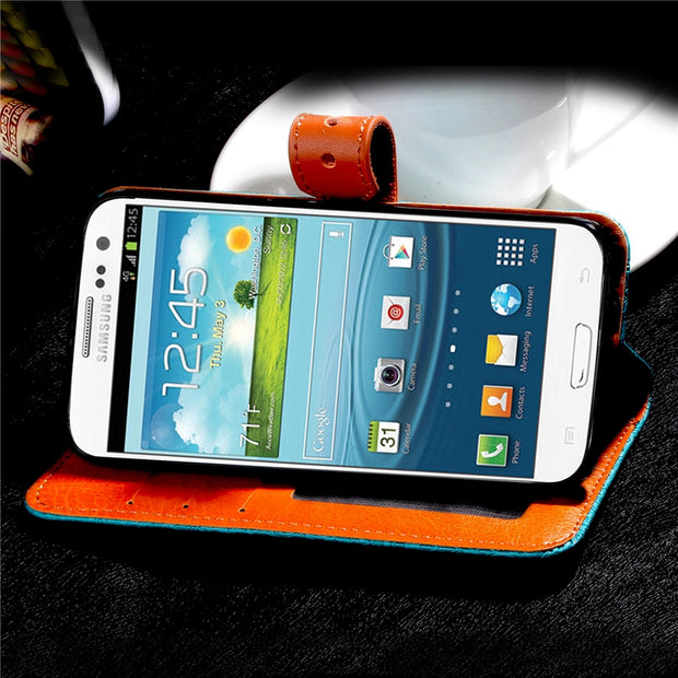 Case For Coque Samsung Galaxy S3 Case Cover For Samsung S3 Case With Stand Card Holder For Galaxy S3 I9300 Case Capinha Etui