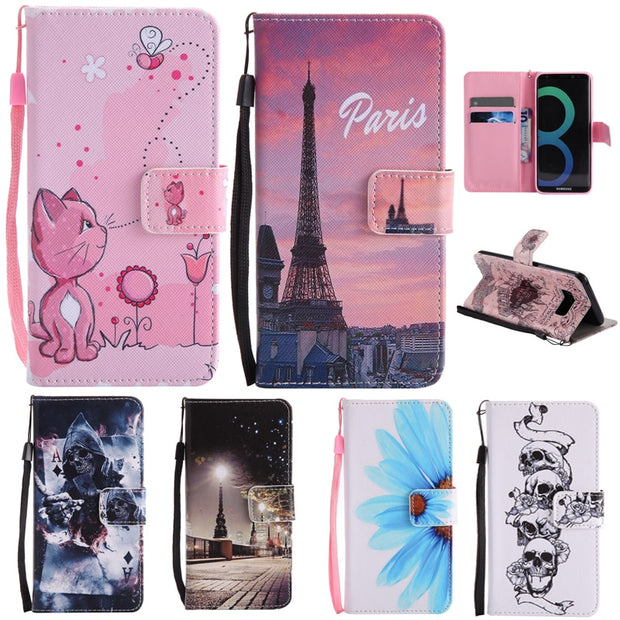 Case For Motorola Moto G4/G4 Plus/G4 Play Cover Flip Card Slot Stand Holder Leather Soft Phone Case Funda Coque Capa KimTHmall