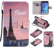 Case For Samsung Galaxy Core Prime LTE G360 G360H G361H G3608 Flip Card Slot Stand Holder Leather Soft Phone Case Capa KimTHmall