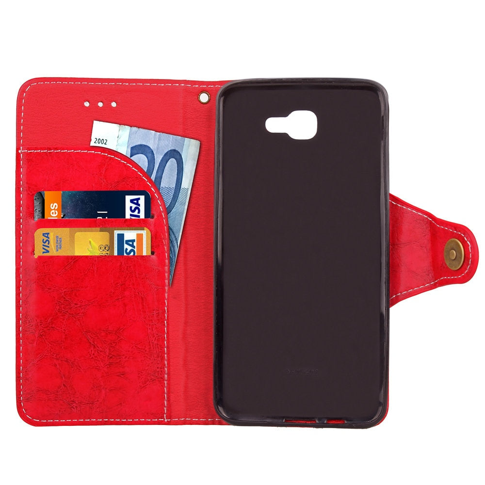 Case For Samsung Galaxy J5 Prime 5J J5Prime Duos G570F Wallet Flip Phone Leather Capa Cover SM-G570F SM-G570M SM-G570F/DS Coque
