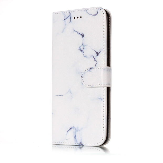 Case For Samsung Galaxy S5 S6 S7 S8 Plus S7 Edge Cover Luxury Flip Card Slot Stand Holder Leather Soft Phone Case Capa KimTHmall