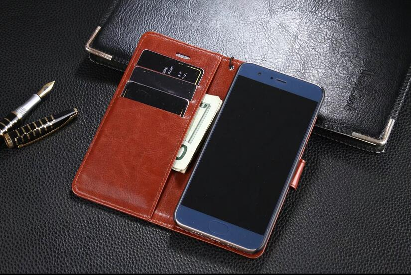 "DIYABEI For Xiaomi Mi 6 5.15"" Shot Card Holder Cover Case For Xiaomi Mi6 Leather Phone Case Ultra Thin Wallet Flip Cover"