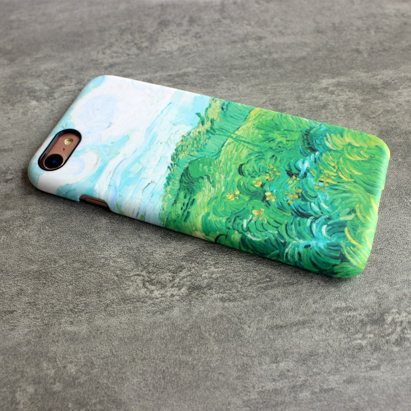 Durable Hard PC 3D Flowing Oil Painting Van Gogh Case Protect Skin Cover For Apple IPhone7 IPhone8 IPhone 7 8
