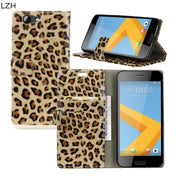 Fashion Leopard Pattern PU Leather Flip Stand Cover Case For HTC One A9s Magnetic Snap Wallet Stand Case For HTC A9s