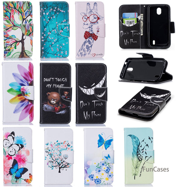Feather Flip Phone Case SFor Hoesjes Nokia 1 Soft TPU Back Cover Cover Abstract Phone Accessory For Nokia 1 Protect Cellular New