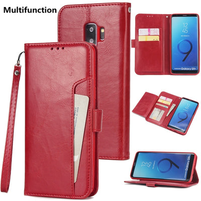 Flip Case For Samsung Galaxy S7 Edge Note 8 Samsung S9plus Luxury Restro Flip Wallet Coque For Samsung S9 Galaxy S8 Plus Cases