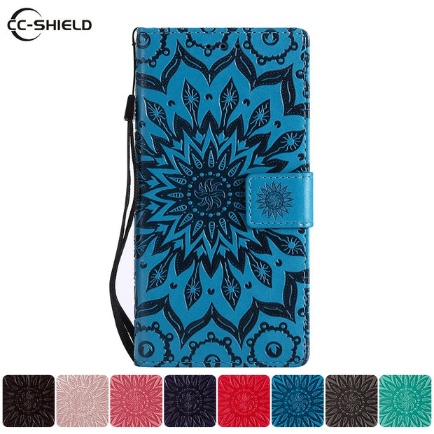 Flip Case For Samsung Galaxy J3 2018 SM-J337 SM-J337A Case Leather Cover For Samsung Galaxy J 3 2018 SM J337 Cases Bag Funda