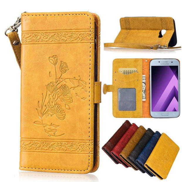 Flip Stand Phone Leather Cover For Samsung Galaxy A3 2016 A 3 310 A310 SM-A310 A310F A310f/ds SM-A310F SM-A310f/ds Phone Bags