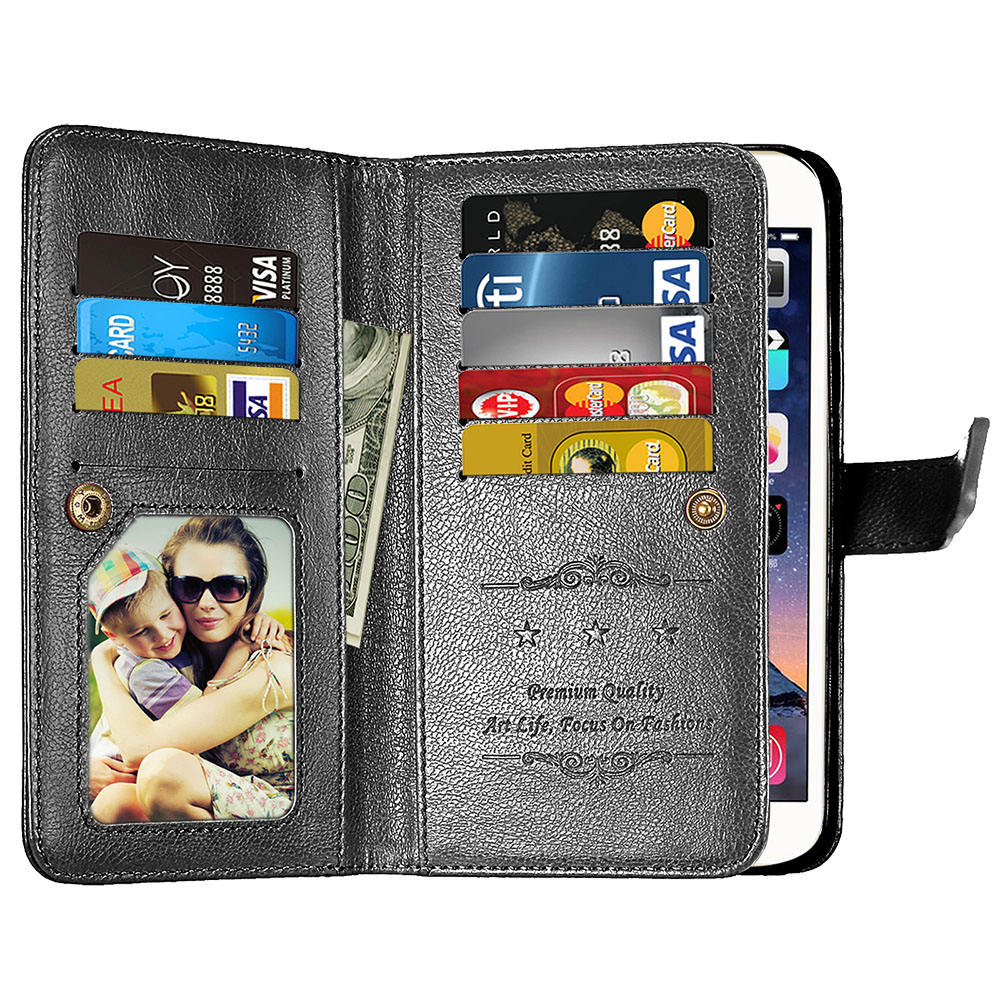 For Coque Sony Xperia XZ1 Compact Case Vintage Retro Wallet Case For Sony XZ1 Compact Cover Flip Leather Card Slot Phone Bag