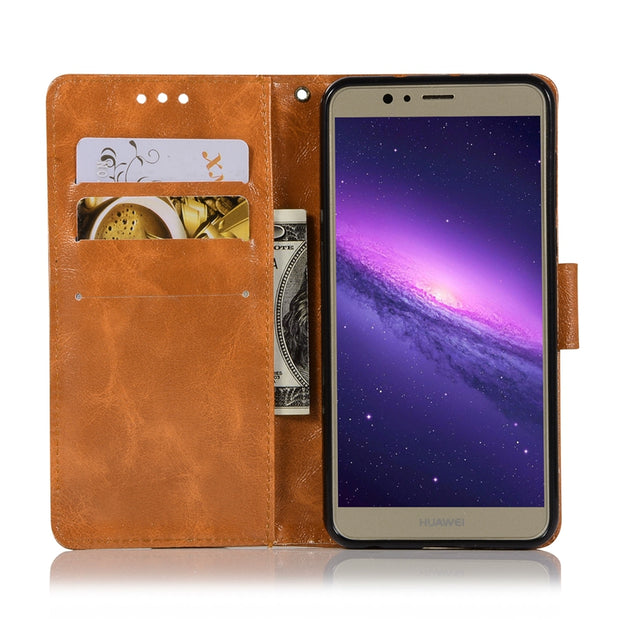 For Huawei Honor 8 Case Luxury Soft TPU & Leather Wallet Flip Phone Cases Cover For Huawei Honor 8 Honor8 Etui Capinha