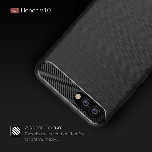 For Huawei Honor V10 Back Case TPU Silicon Protective Back Phone Bags Cases For Huawei Honor V10 5.99 Inch