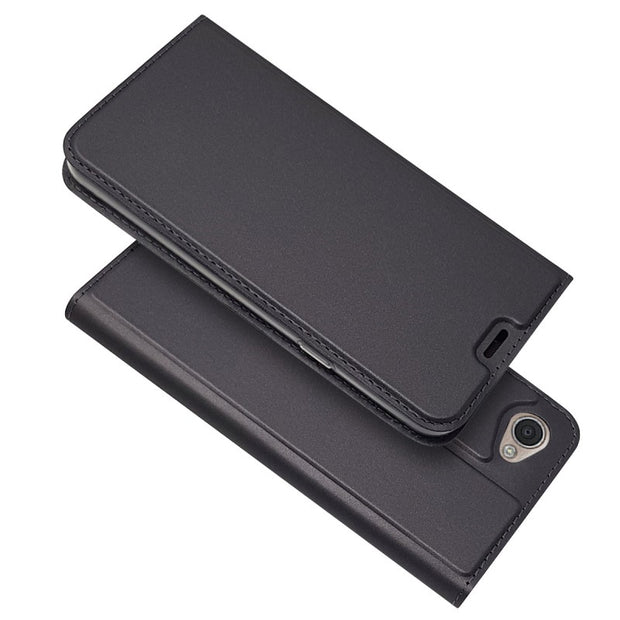 For LG Q8 & Q6 Flip Case Magnetic Slim Wallet Leather Case Book Kickstand Protective Shell Cover M700