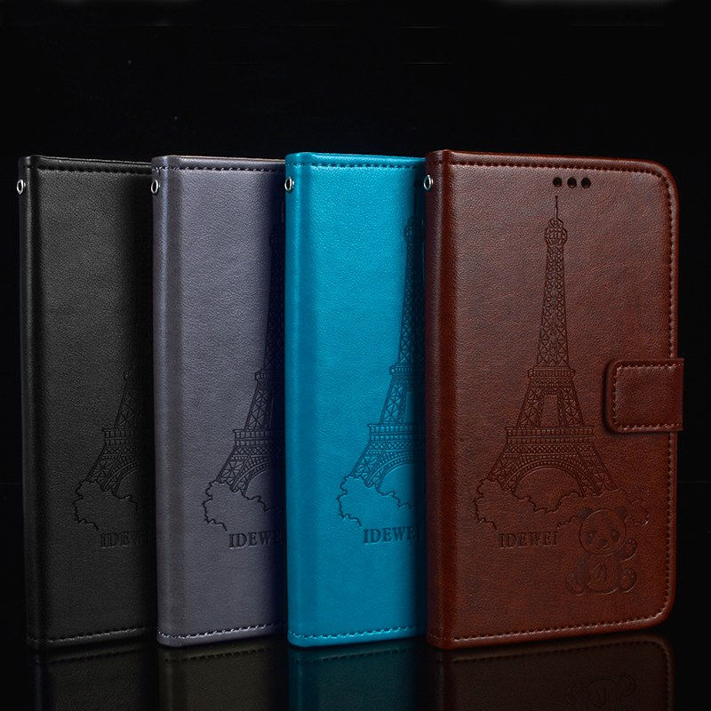 For Meizu M8 Note Case Meizu M8 Note Cover Wallet Retro Pattern Leather Pouch For Meizu M8 Note Meilan Note 8 Note8 M822Q Case