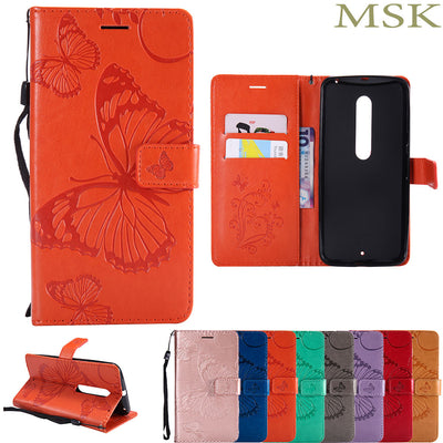For Motorola Moto X Style Case XT1572 XT1570 For Moto XStyle Leather Cases Fashion Card Slot Stand Wallet Flip Phone Cover 5.7""