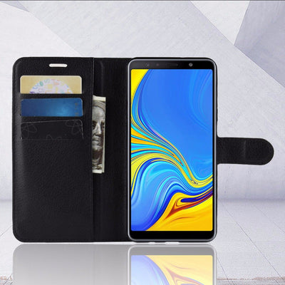 For Samsung A7 2018 A750F Case Flip Luxury PU Leather Phone Case For Samsung Galaxy A7 2018 A750F A750 SM-A750F A 7 2018 Case