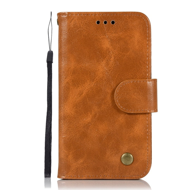 For Samsung Galaxy J1 2016 Case Soft TPU & Leather Wallet Flip Phone Cases Cover For Samsung J1 2016 J120 J120F Etui Capinha
