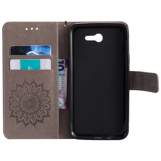 For Samsung Galaxy J7 2017 Armor Case Luxury Leather Wallet Flip Kickstand Full Protection For Coque Samsung J7 2017 Case Cover