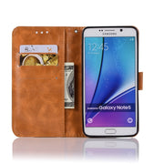 For Samsung Galaxy Note 5 Case Luxury Soft TPU & Leather Wallet Flip Phone Cases Cover For Samsung Note 5 Note5 Etui Capinha