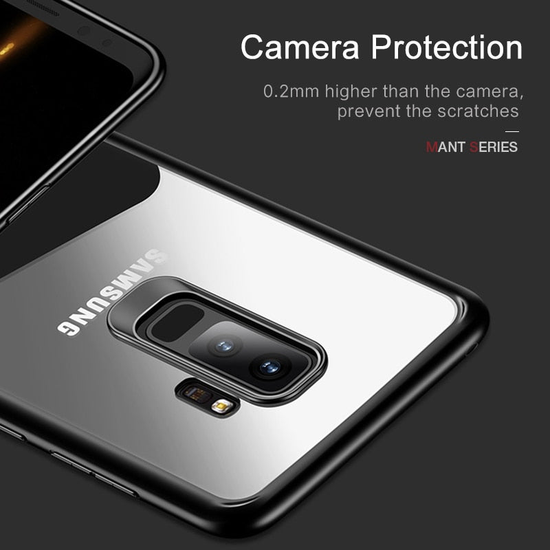 For Samsung Galaxy S9 Case USAMS PhoneCase Ultra Slim Back Cover For Samsung S9 Full Protective S9 TPU Protector Samsung S9 Case