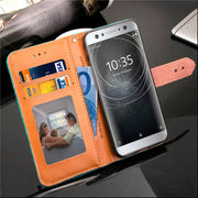 For Sony Xperia XA2 Case Sony XA2 Case 5.2 PU Leather Cover Flip Phone Case For Soni Experia XA2 H4133 H4113 H3113 H3123 H3133