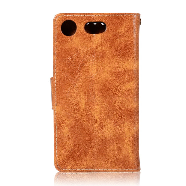 For Sony Xperia XZ1 Compact Case Luxury Soft TPU & Leather Wallet Flip Phone Cases Cover For Sony XZ1 Compact Mini Etui Capinha