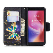 For Xiaomi Redmi 6 Fashion Cute Flip Wallet Case Xaomi Xiomi Red Mi Redmi 6 Card Slot Phone Bag Redmi6 Leather Bumper Cover