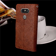 For Fundas LG G5 Cases Phone Wallet Case For Coque Fundas LG G5 H830 H840 H850 Case Cover + Stand Card Holder