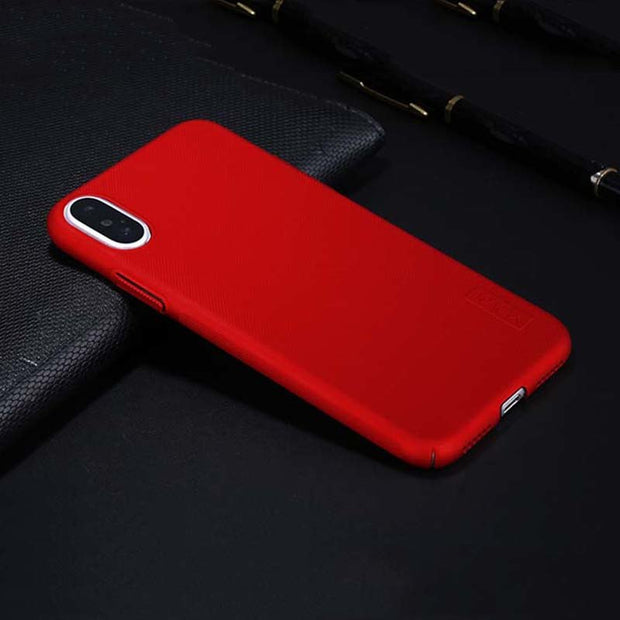 For Iphone X Phone Case X Level Hard Rough Frosted Anti Dirty Matte Back