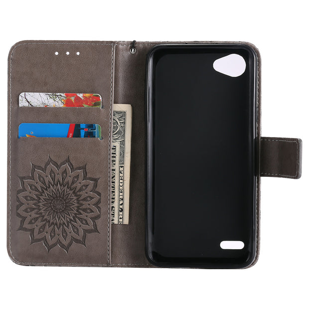 Full Cover Phone Holder For LG Q6 Case PU Leather Painting Wallet Phone Case For LG Q6 Cover Armor Shockproof Cases Coque LG Q 6