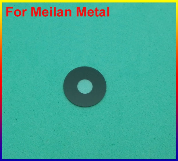 HAOYUAN.P.W 100% New Original Housing Rear Back Camera Glass Lens For MEIZU Meilan Metal With Adhesive Sticker 10pc/lot