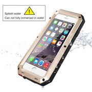 Heavy Duty Case For IPhone Xs Max XR 7 Plus Doom Armor Metal Case For IPhone 6s Shockproof Cover For Samsung Galaxy S6 S7 Edge