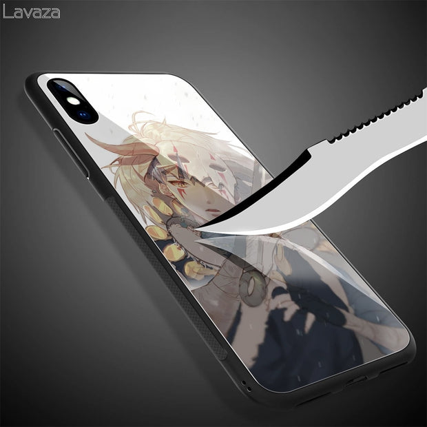 Lavaza Akatsuki No Yona Tempered Glass TPU Case For IPhone XS MAX XR X 8 7 6 6S Plus